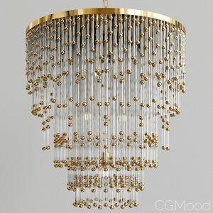 Chandelier With Glass Pendants Festival