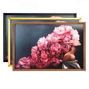 Art Frams 6- Art Flower Head Woman By 3 Frams