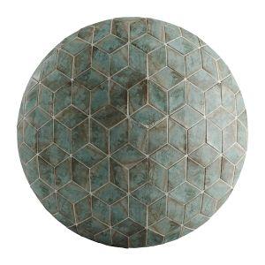 Hemase Mat 01 - A Mano Rhomb Ottiano