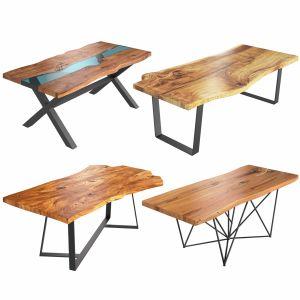 Slab Tables Set