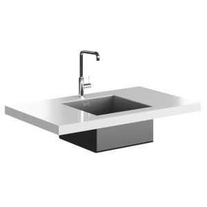Smeg Mc18b Tap And Vstq40-2 Undermount Sink