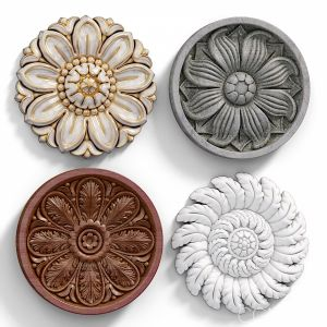 Decorative Wall Rosettes 06