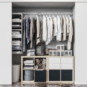 Ikea Ikea Built-in Wardrobe