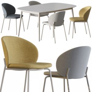 Boconcept-princeton Dining Chair Set
