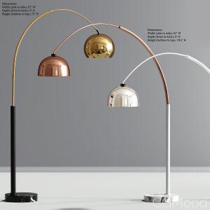 Modern Pacific Coast Arc Floor Lamp