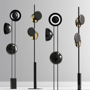 Modern Typography Cilon Floor Lamp Collection