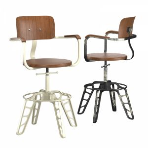 Rockee Steel Cafe Chair