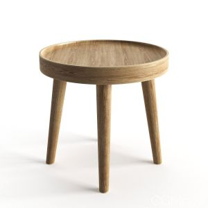 Simple Wood Side Table