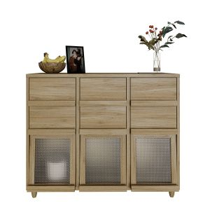 FILMON 3 Door 6 Drawers