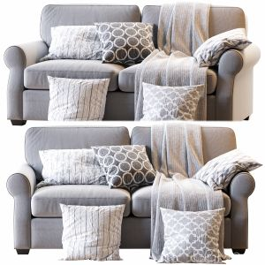 Fremont Roll Arm Upholstered Sofa
