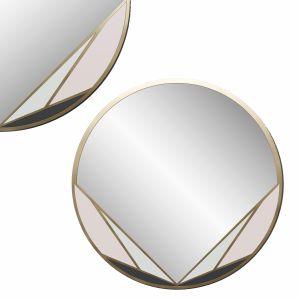 Decorative Brass Mirror
