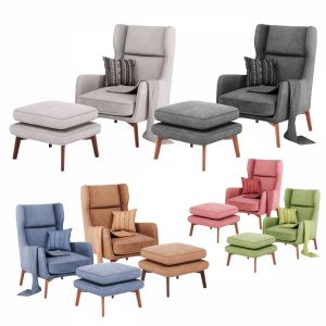 Ryder Velvet Armchair In 6 Color