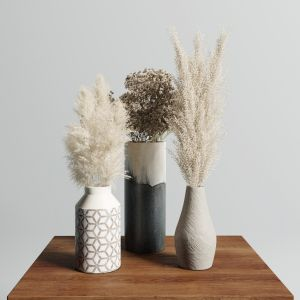 Pampas Vase Set 1