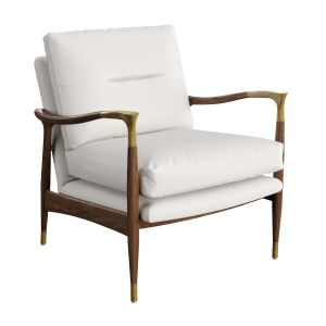 Theodore Arm Chair Natural Linen