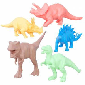 Collection Of Colored Dinosaurs