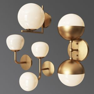 Wall Light Set 03
