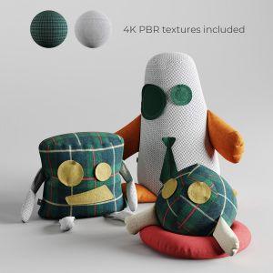 Fabric Toys Set01