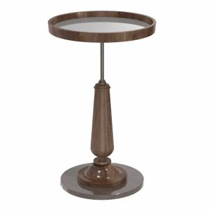 Hickory Chair Diad Drink Table