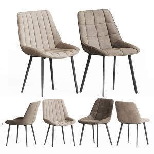 Adah & Anant Chair Set La Forma