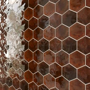Large Hexagon Glossy 5 Types
