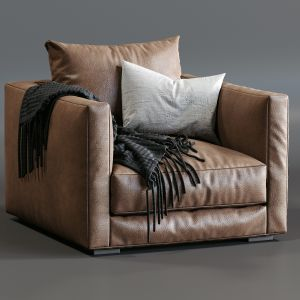 Leather Armchair Tango By Marac