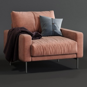 B&t Design Armchair Piu