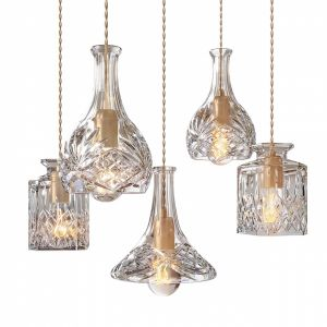Lee Broom - Decanterlight Chandelier 3 Piece