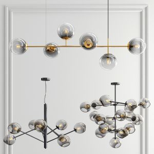 Best Staggered Glass Chandelier - 3 Type