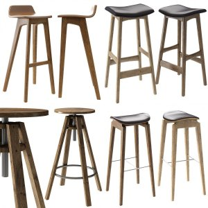 Modern Stool Collection 01