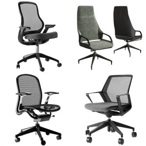 Office Chairs Collection 01