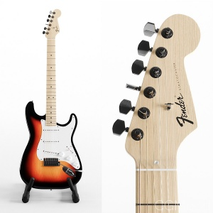 Fender Stratocaster - California Sunburst