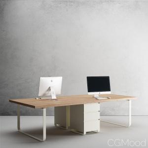 Pilke Office Desk
