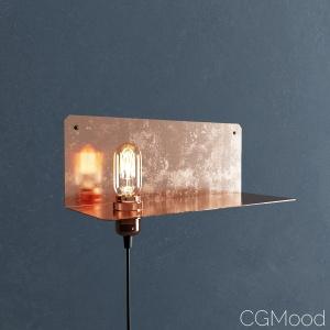 90-Degree Wall Lamp