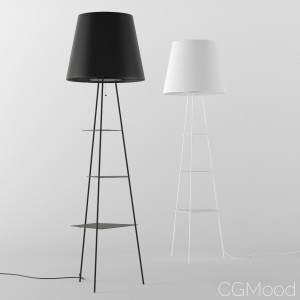 TRI.BE.CA. floor lamp by MOGG