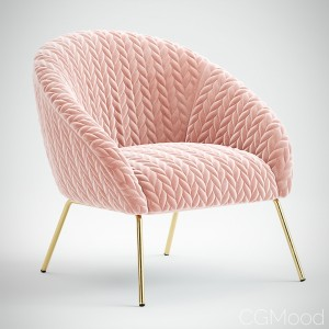 Quilted Hillside Accent Chair by Anthropologie