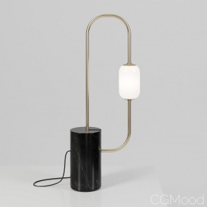 Segment table lamp by Particuliere