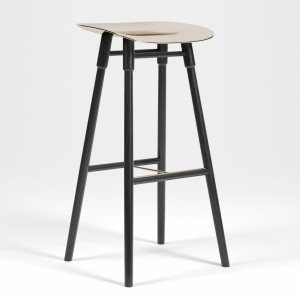 Dowel bar stool by Mr. Frag