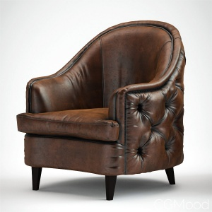 erwin_tufted armchair by Pure