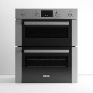 Serie 4 HBN43B250B Double Oven by Bosch