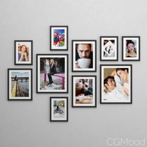 Vankiva frames by IKEA (OL Family Set)