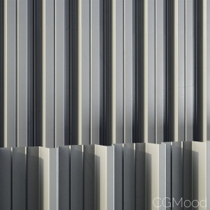 15 GeoPattern corrugated metal profiles