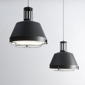 Industrial suspension light