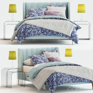 Avalon Channel Stitch Bed