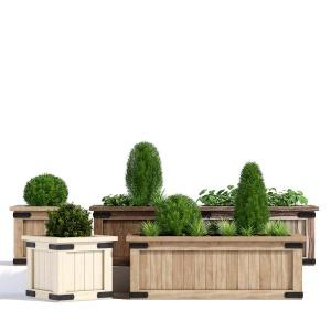 Rustic Barnwood Planter