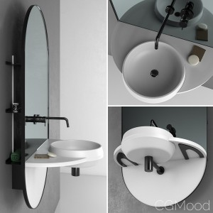 Ex.t Arco bathroom set