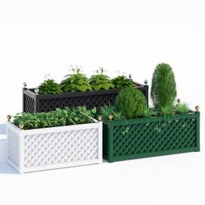 Treillage jardinieres