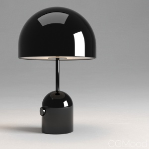 Tom Dixon Black Bell Table Light