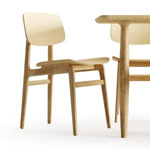 Dining Chair And Table - Norr11