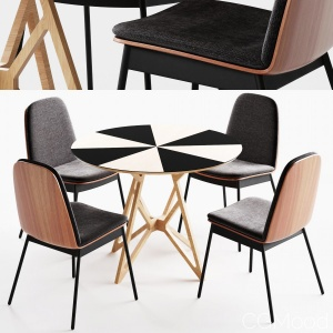 Industry West Duet Chair Set