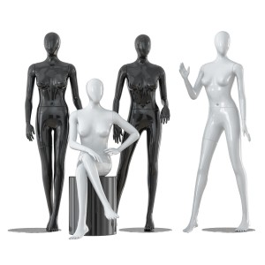 Faceless Woman Mannequins 25